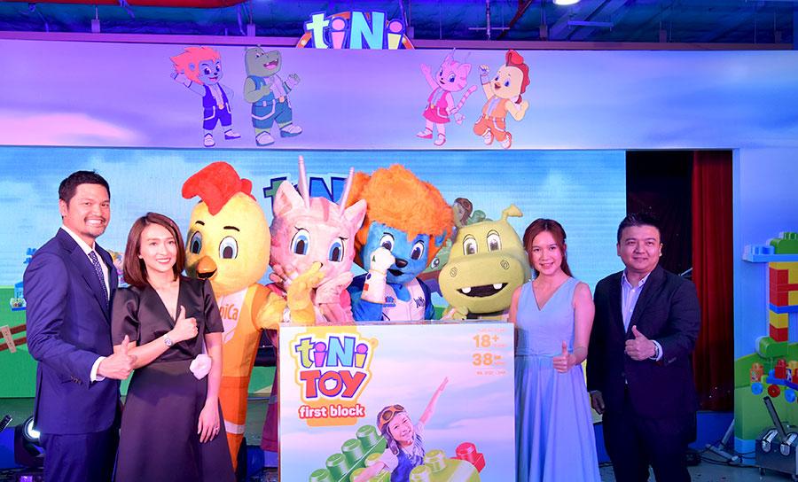 Thương hiệu đồ chơi dành riêng cho trẻ em Việt Nam tiNiToy chính thức ra mắt