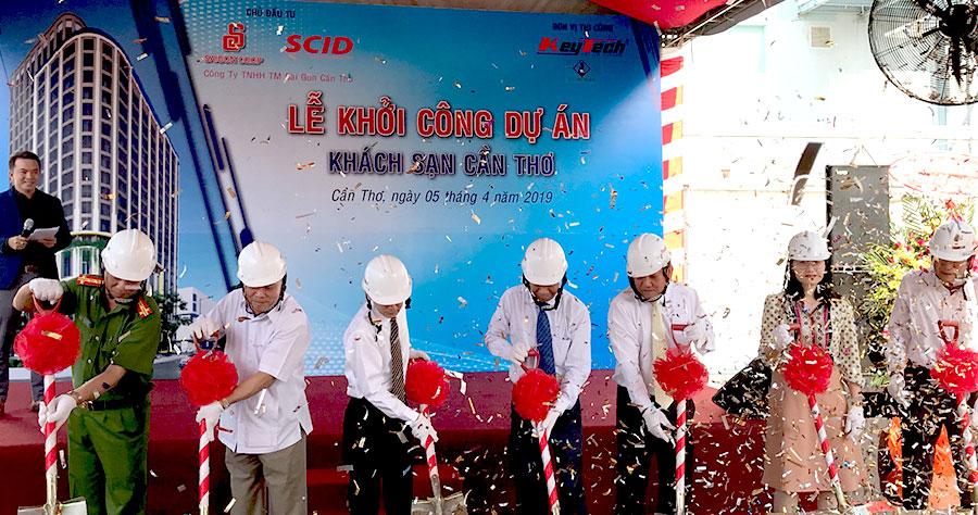 Saigon Co.op và SCID khởi công xây dựng khách sạn chuẩn 4 sao tại Cần Thơ