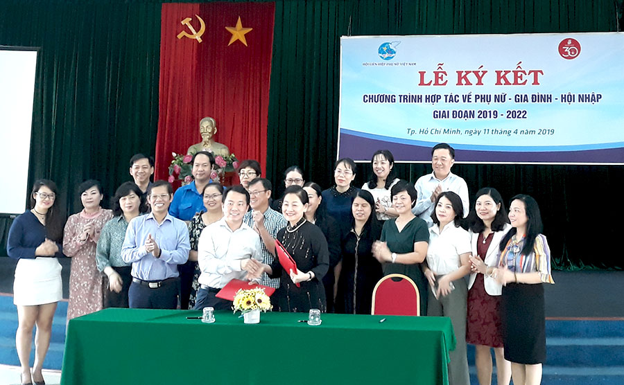 Saigon Co.op ký kết hợp tác cùng Hội Liên hiệp phụ nữ Việt Nam