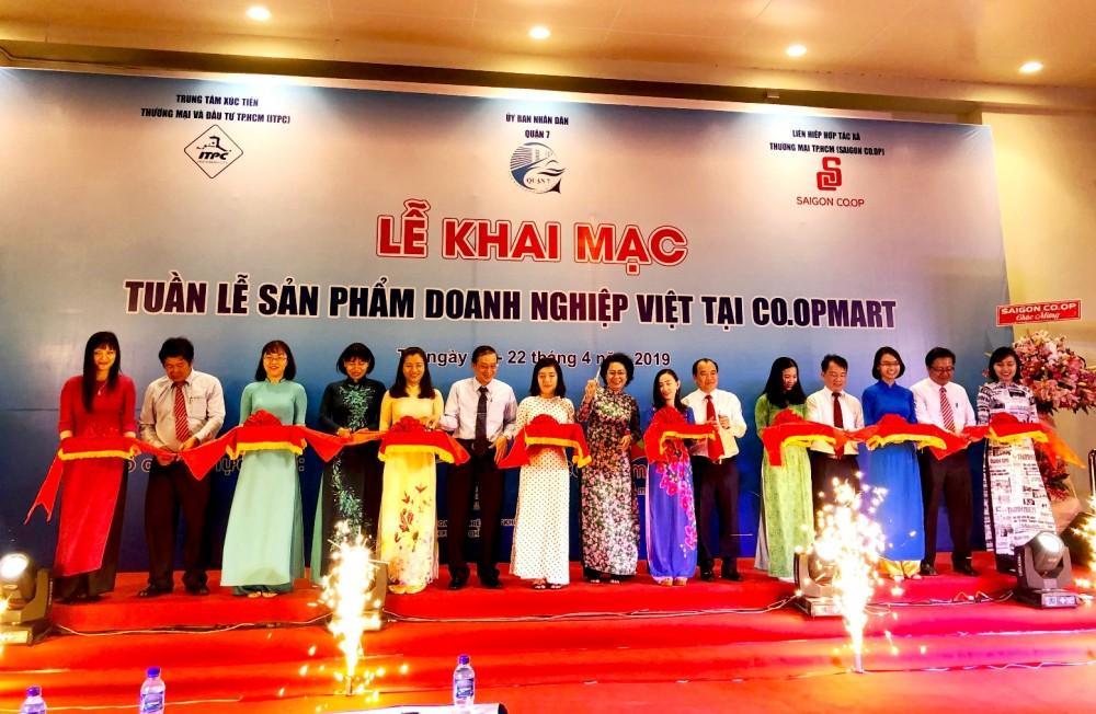 Tuần lễ sản phẩm doanh nghiệp Việt tại Co.opmart