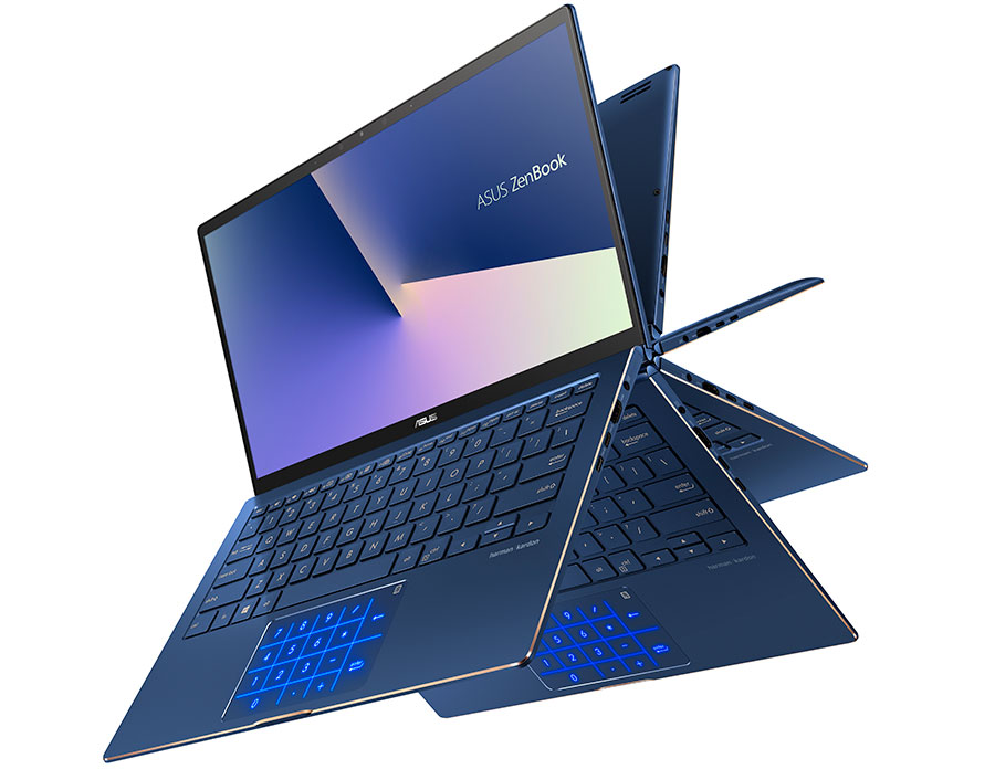 ASUS giới thiệu mẫu laptop gập xoay ZenBook Flip 13 UX362 nhỏ gọn nhất thế giới