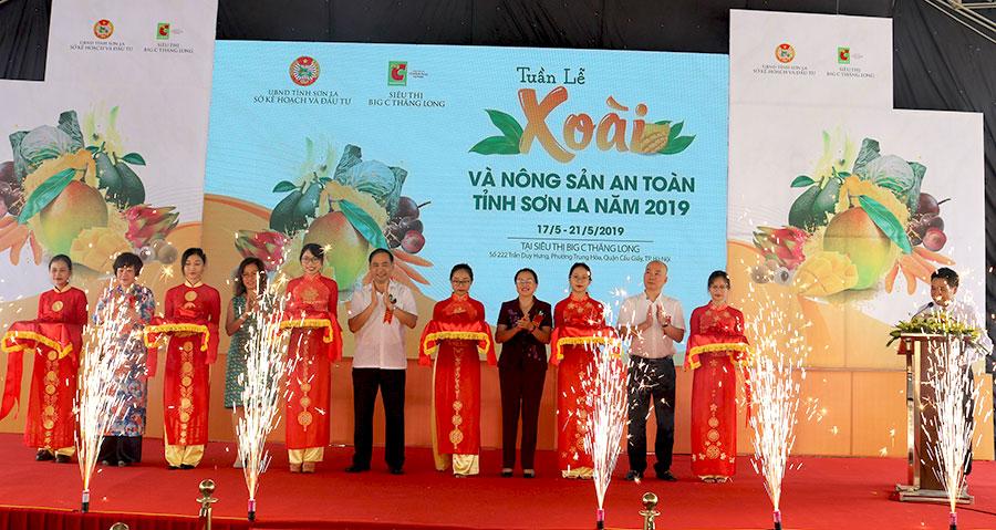 Tuần lễ Xoài và Nông sản an toàn tỉnh Sơn La năm 2019
