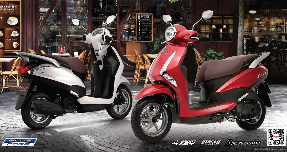 Yamaha Việt Nam ra mắt xe tay ga Latte
