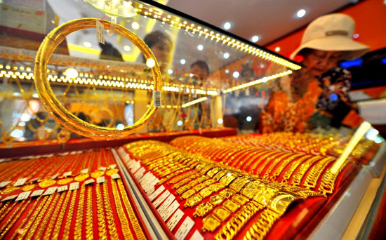 Giá vàng tăng kỷ lục,vượt ngưỡng 39 triệu đồng mỗi lượng