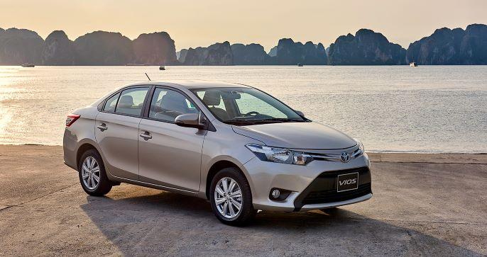 Toyota triệu hồi Vios vì lỗi túi khí
