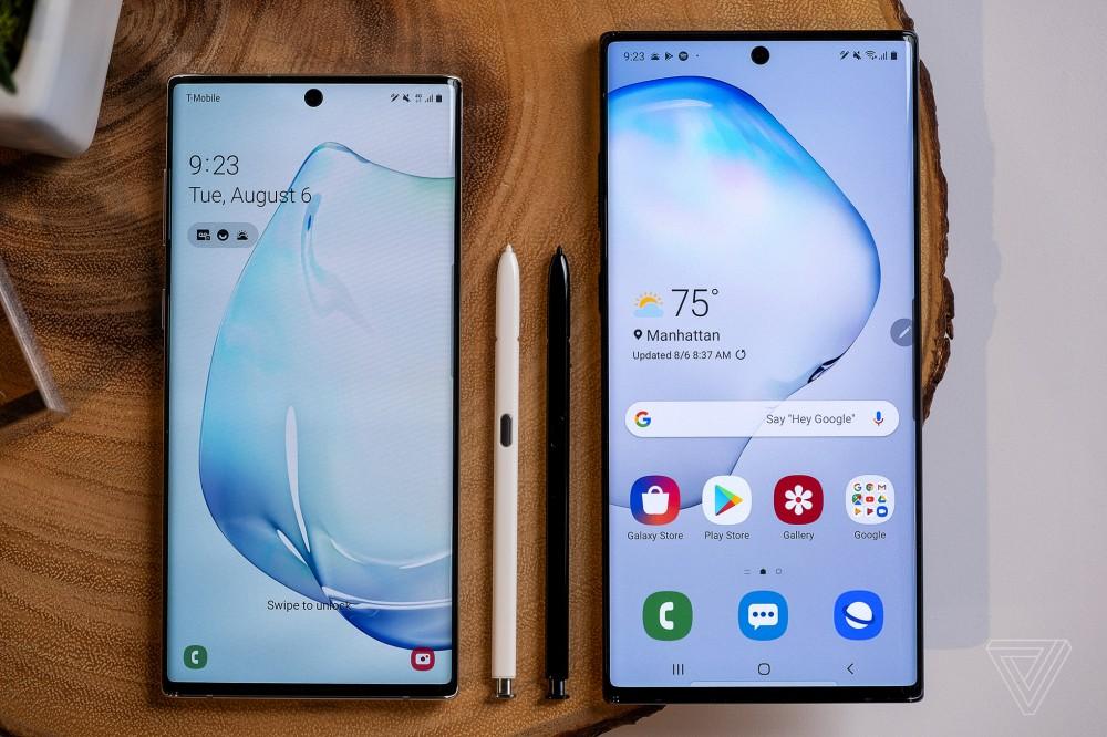 Samsung Galaxy Note 10 chính thức ra mắt