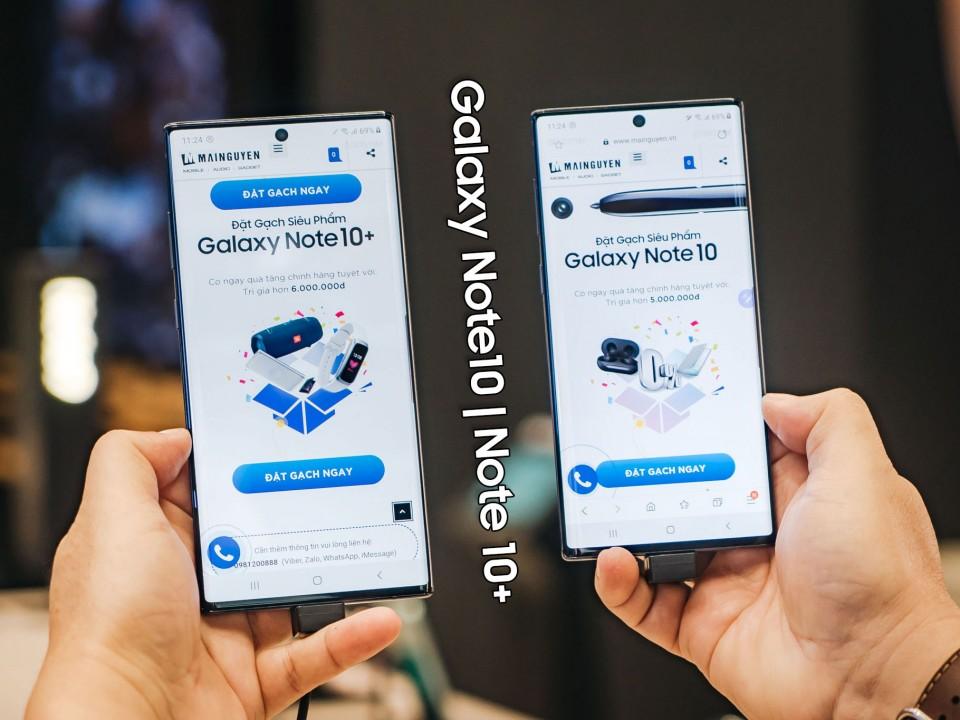 Trên tay Samsung Galaxy Note10| Note10+ tại Việt Nam ở Samsung Showcase