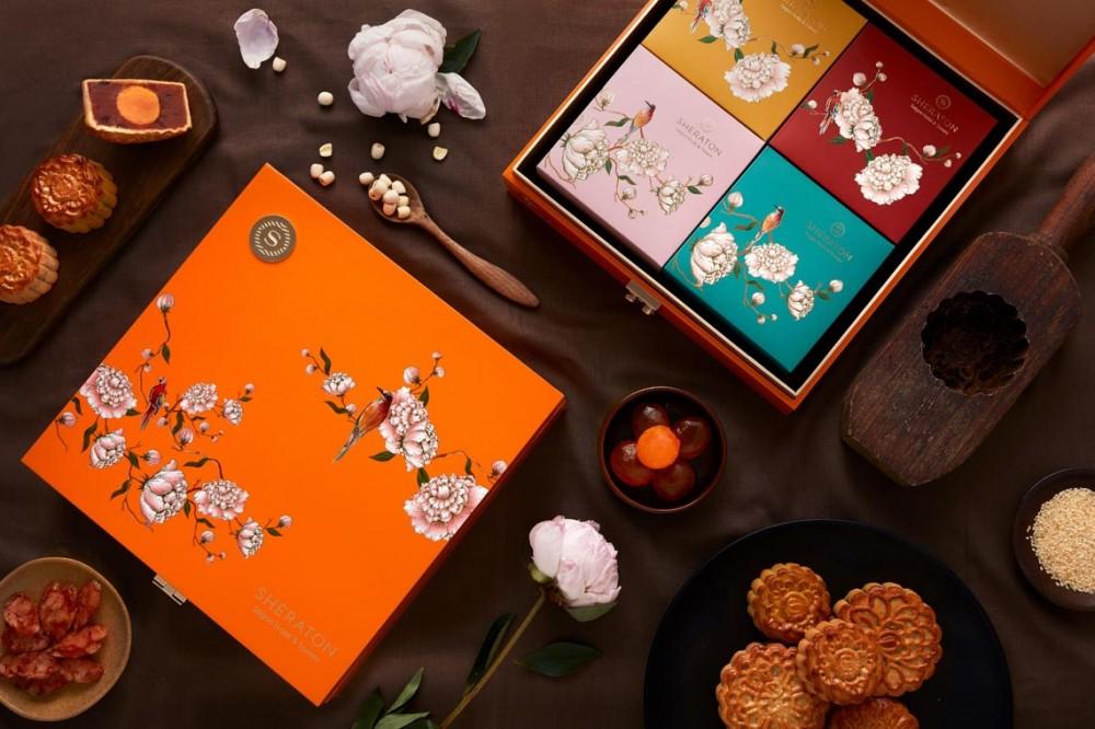 Khách sạn Sheraton Sài Gòn giới thiệu bộ sưu tập bánh trung thu độc đáo