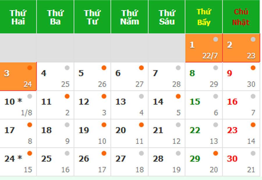 Dịp Lễ Quốc khánh 2/9 : Công chức, viên chức và người lao động được nghỉ 3 ngày