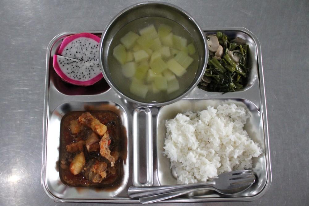 Sử dụng phần mềm xây dựng thực đơn cân bằng dinh dưỡng nhằm nâng cao chất lượng bữa ăn học đường
