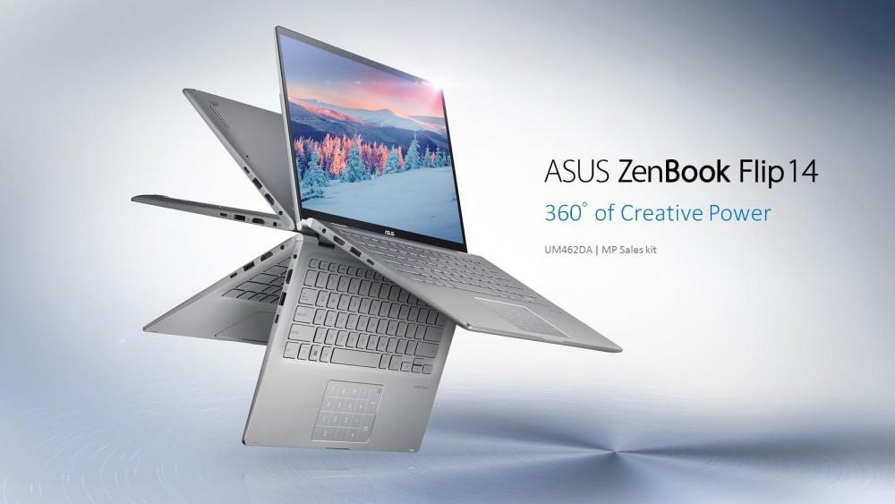 ASUS Việt Nam ra mắt dòng ZenBook UM433 và ZenBook Flip UM462 lần đầu tiên được trang bị vi xử lý thế hệ mới của AMD