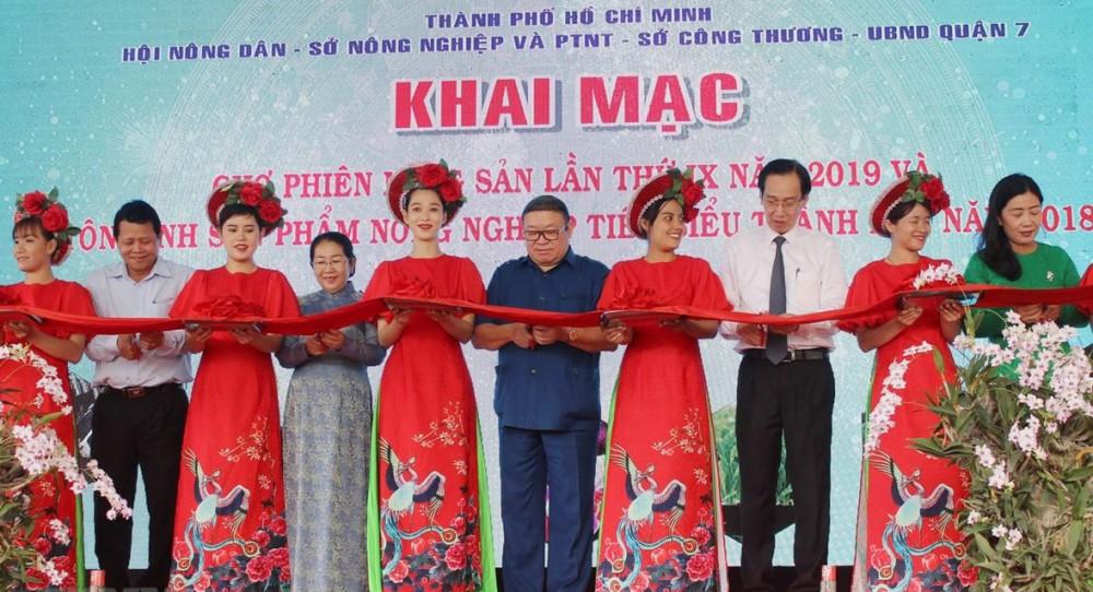 Khai mạc chợ phiên nông sản và tôn vinh sản phẩm nông nghiệp tại TP.HCM