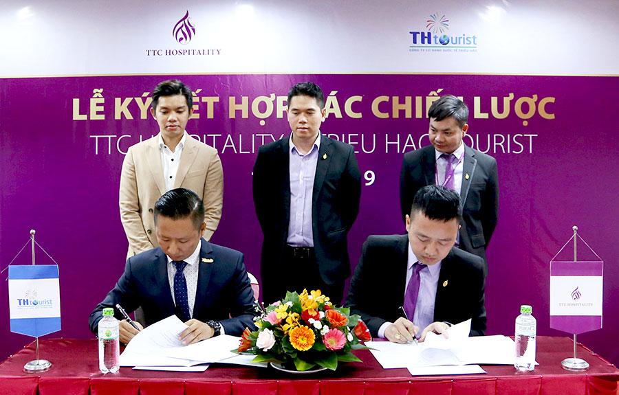 TTC Hospitality ký kết hợp tác chiến lược cùng Triều Hảo Tourist