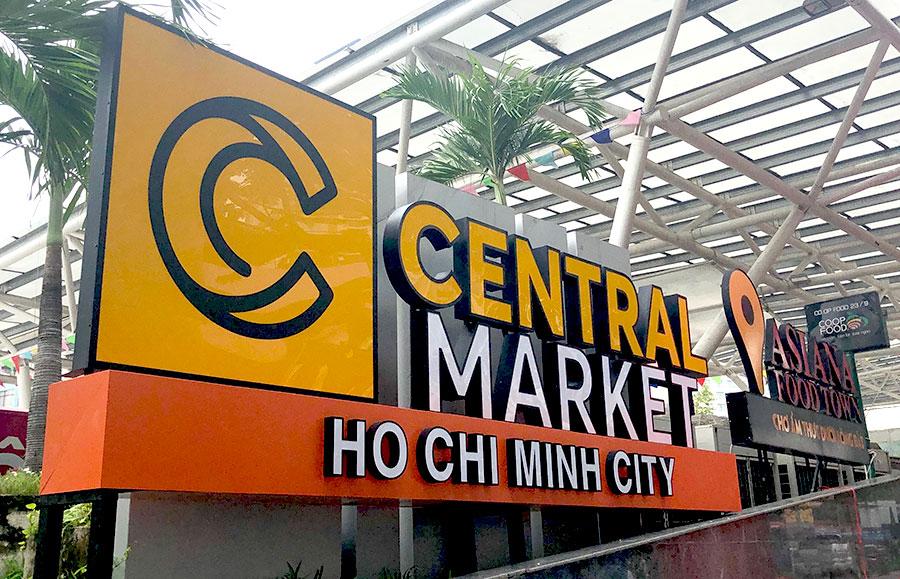 Chợ trong lòng đất ở Sài Gòn đổi tên thành Central Market