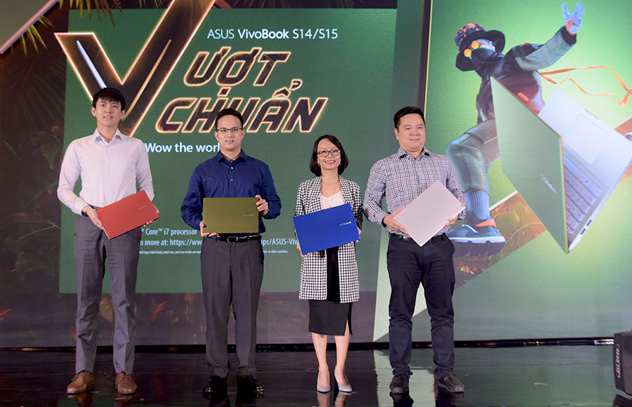 ASUS Việt Nam chính thức ra mắt VivoBook S14/S15