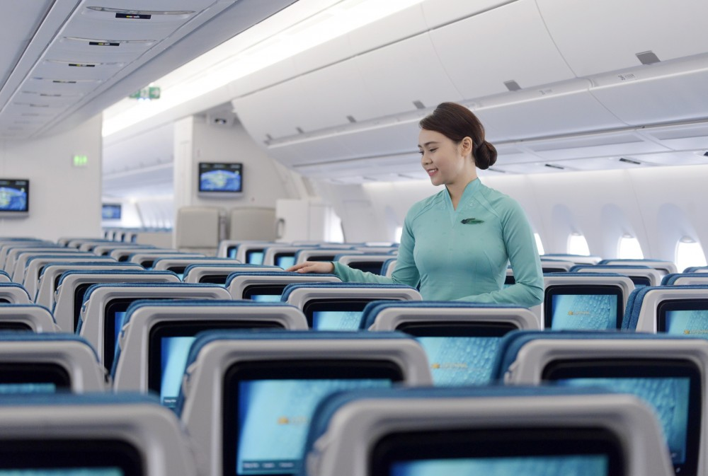 Máy bay của Vietnam Airlines sẽ có dịch vụ wifi từ ngày 10/10