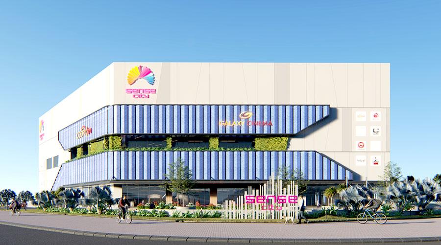 Quận 9 sắp có trung tâm thương mại Sense City quy mô lớn