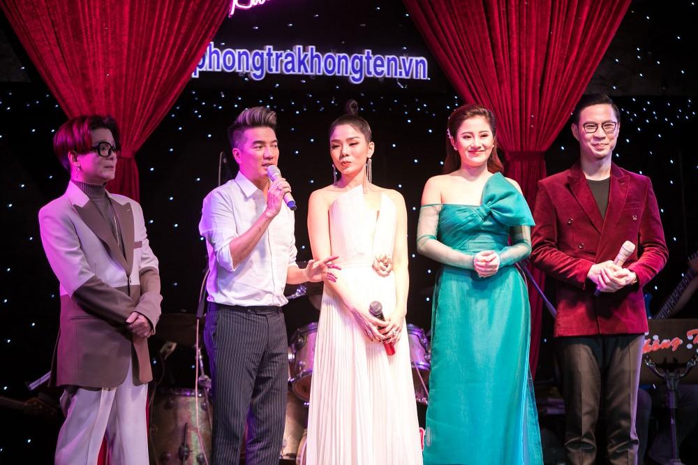 Mr Đàm cùng Lệ Quyên tổ chức đêm nhạc