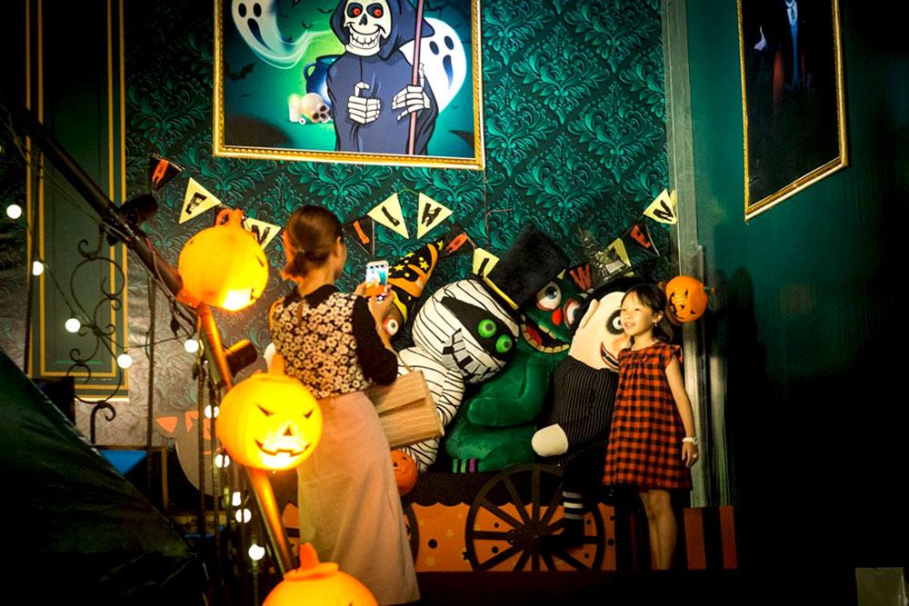 Vui chơi lễ hội Halloween ở Sài Gòn