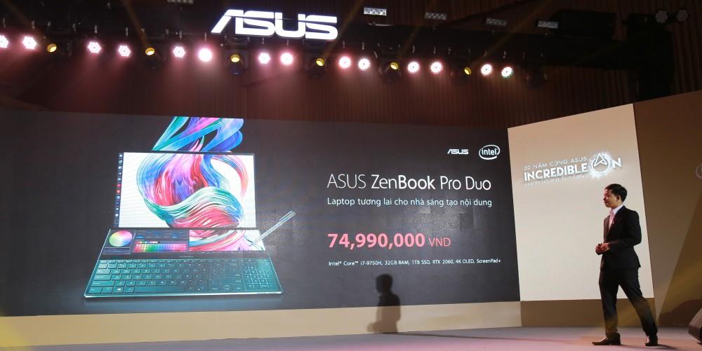 ASUS ra mắt laptop có 2 màn hình, laptop tương lai cho nhà sáng tạo nội dung