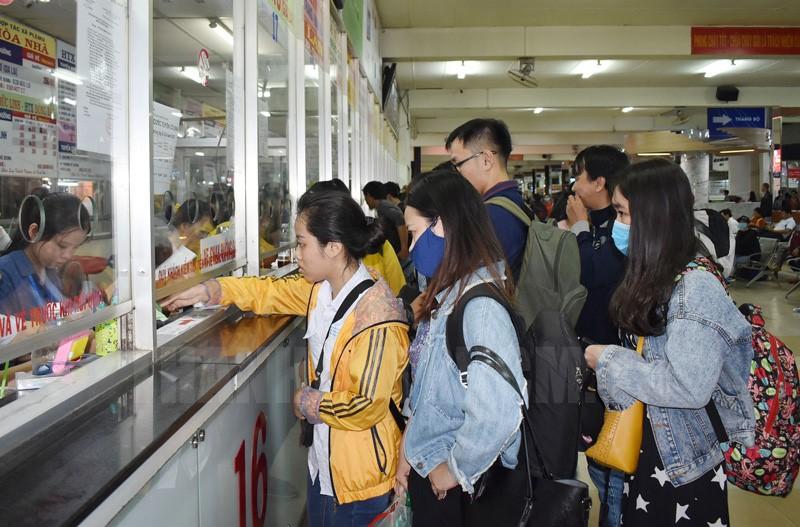 Dịp Tết Dương lịch năm 2020, không tăng giá vé xe so với ngày thường.