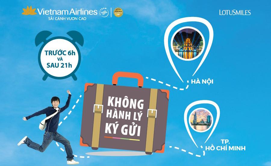 Vietnam Airlines áp dụng giá siêu hấp dẫn 399.000 đồng với vé bay không hành lý