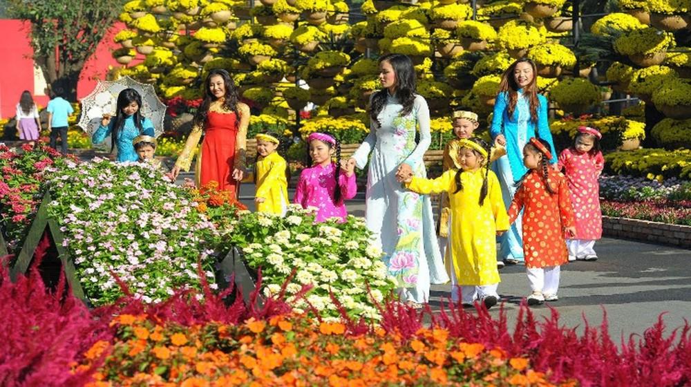 Hội hoa xuân TPHCM 2020 diễn ra từ 25 tháng Chạp