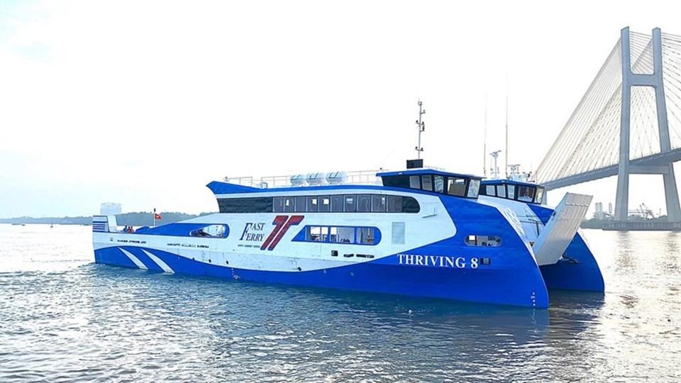 Sẽ khai thác tuyến phà Cần Giờ - Vũng Tàu vào tháng 4.2020