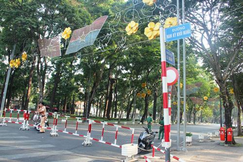 Cấm xe lưu thông vào đường Lê Duẩn 4 ngày, đoạn từ đường Nam Kỳ Khởi Nghĩa - đường Pasteur
