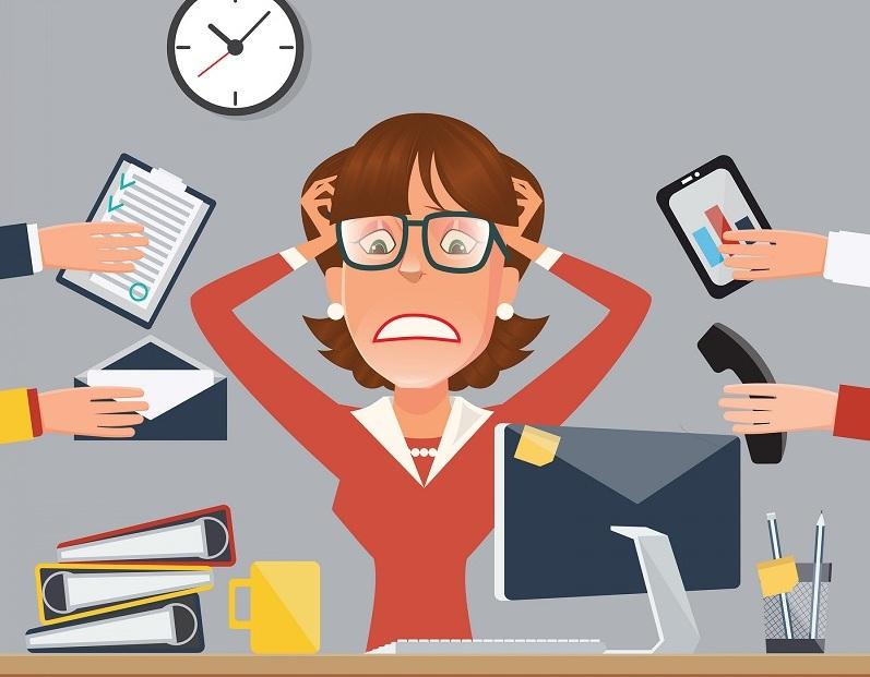Dấu hiệu bạn đang chịu nhiều áp lực công việc