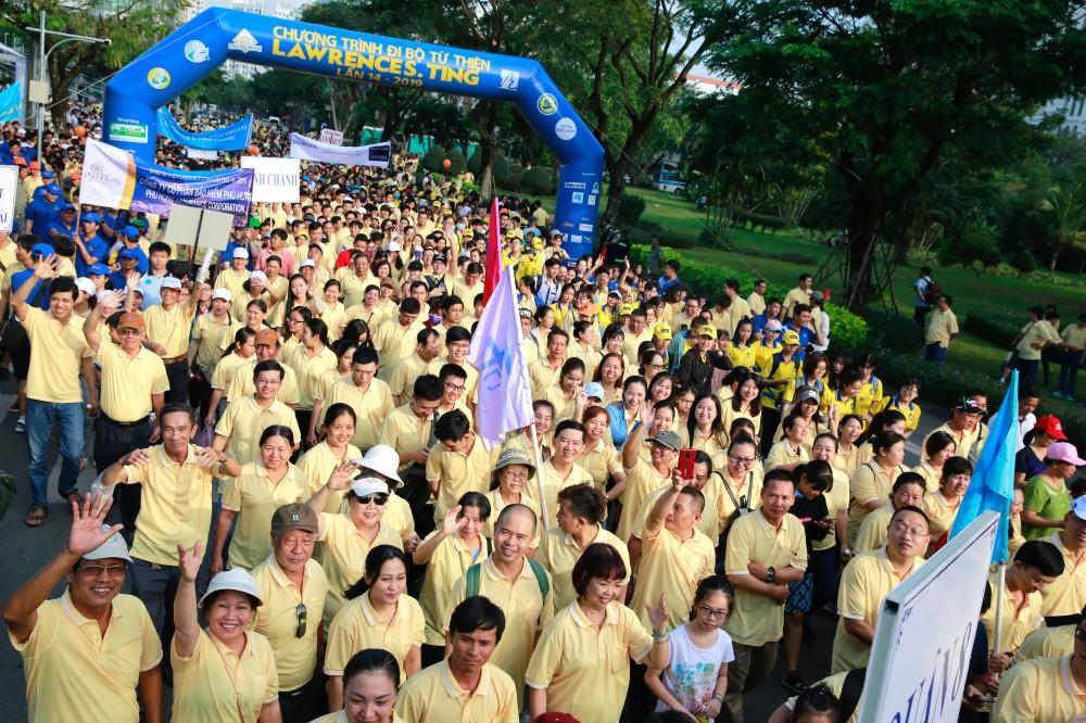 Chương trình Đi bộ từ thiện Lawrence S. Ting lần thứ 15-2020 sẽ diễn ra vào sáng 24 Tết Canh Tý