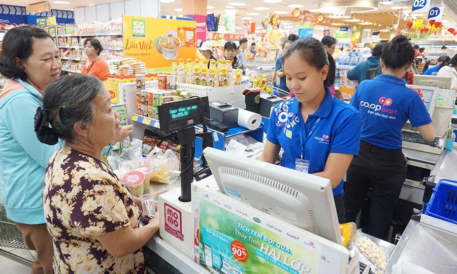 Hệ thống siêu thị Co.opmart, Co.opXtra mở cửa từ sáng đến 23h đêm phục vụ tết