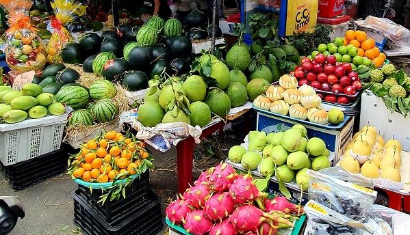 30 tết, trái cây giá cao, rau củ cũng tăng giá
