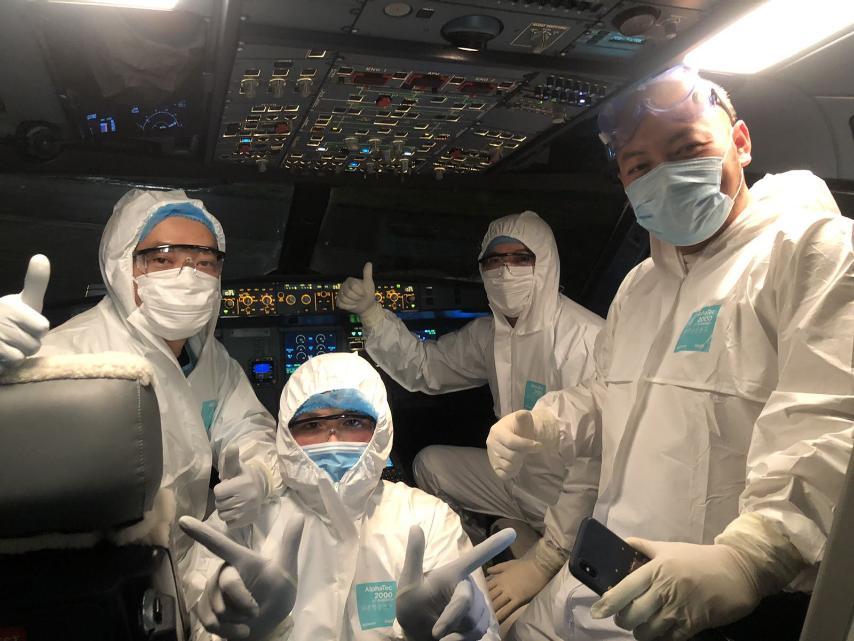 Vietnam Airlines thực hiện chuyến bay đưa công dân Việt Nam từ Vũ Hán về nước như thế nào ?