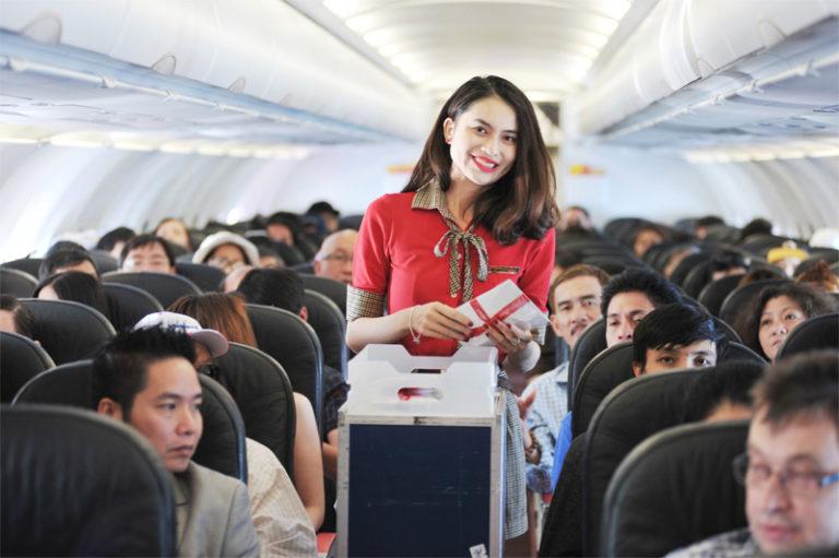 Vietjet giảm 50% giá vé tất cả các đường bay