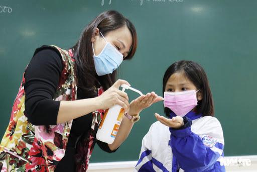 Bộ GDĐT hướng dẫn thực hiện các biện pháp phòng, chống dịch bệnh Covid-19 trong trường học