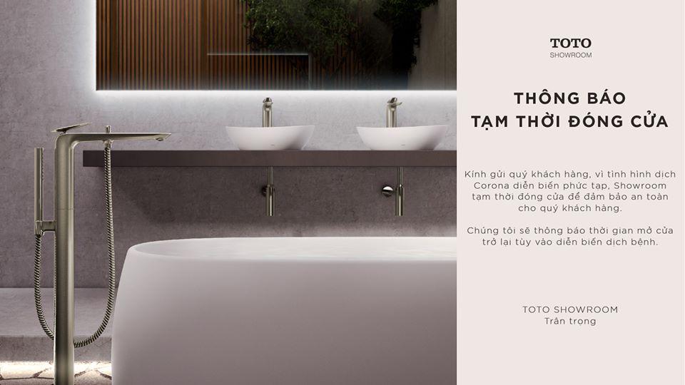 TOTO Việt Nam tạm thời đóng cửa showroom TP.HCM