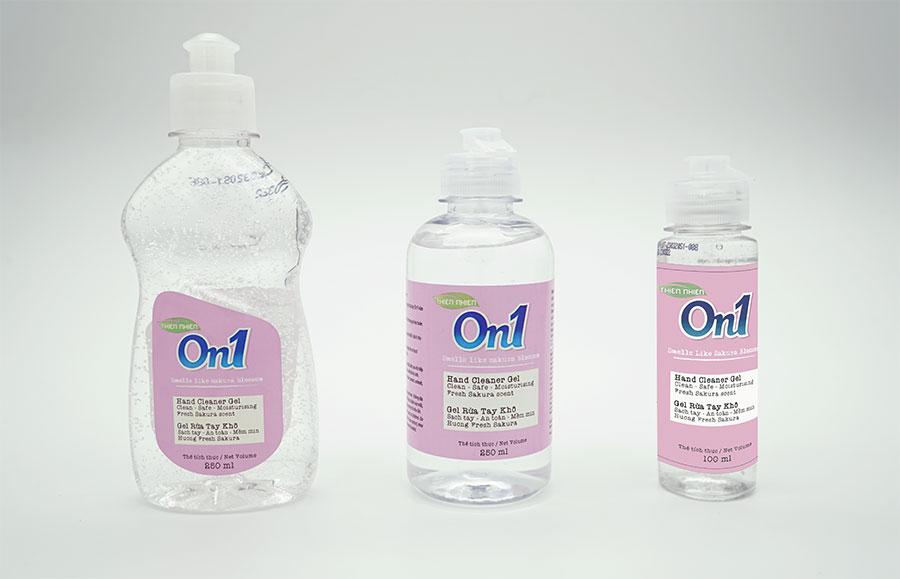 Nhà sản xuất phản hồi về chất lượng sản phẩm Gel rửa tay khô On1