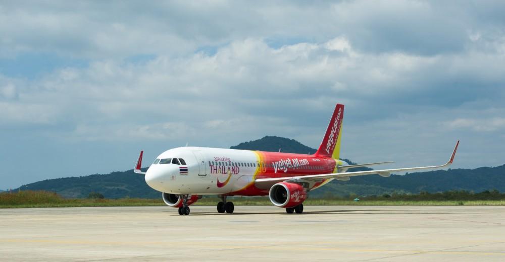 Vietjet khuyến mãi vé giá rẻ cho các đường bay tại Thái Lan