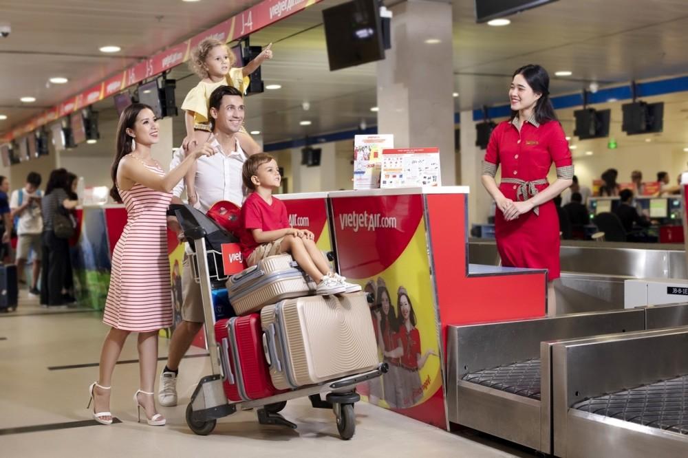 Vietjet mở bán vé với giá chỉ từ 1.600 đồng nhân ngày Quốc tế Thiếu nhi 1/6