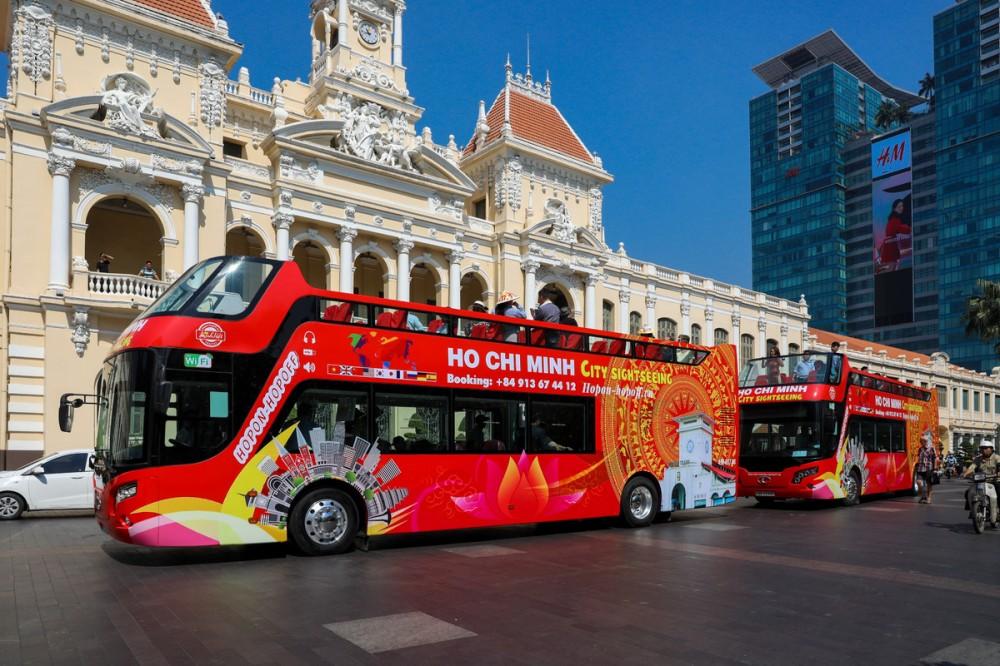 Bình Thuận, Bà Rịa – Vũng Tàu sắp có xe buýt 2 tầng mui trần cho du lịch