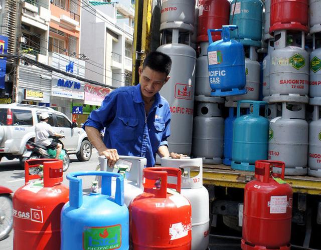 Giá gas tăng nhẹ từ ngày 1.7