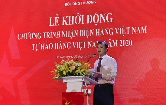 """Khởi động Chương trình """"Tự hào hàng Việt Nam"""" năm 2020"""