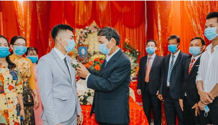 Đám cưới đặc biệt giữa mùa dịch