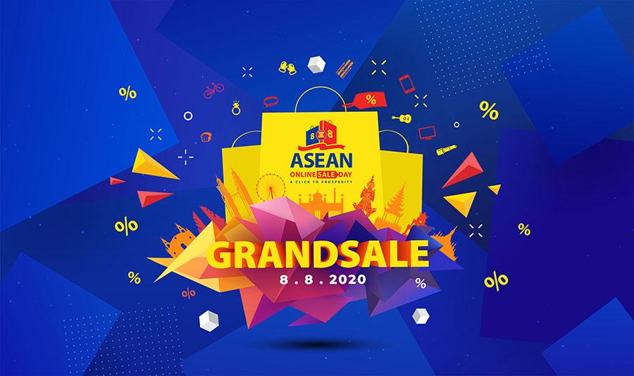 Ngày 08.08.2020 sẽ diễn ra Ngày mua sắm trực tuyến ASEAN