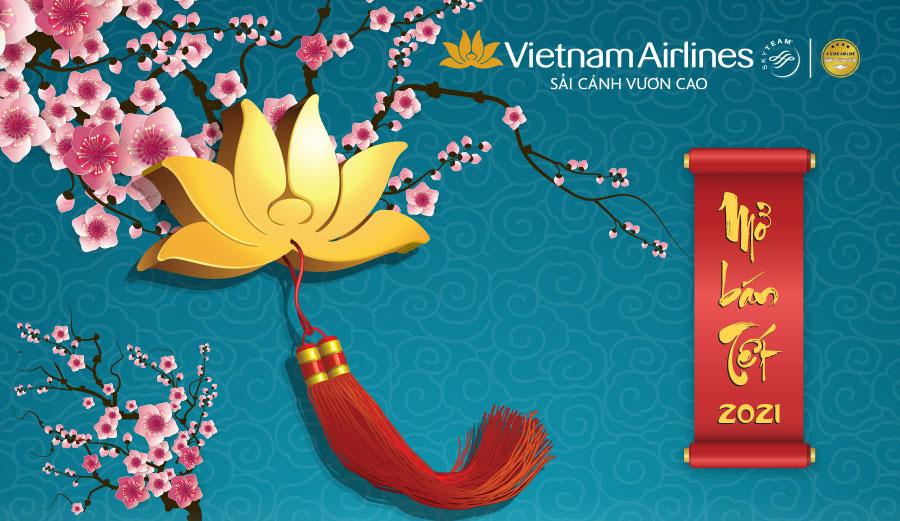 Vietnam Airlines Group mở bán hơn 2 triệu vé Tết Tân Sửu 2021