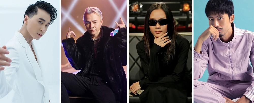 Đen Vâu, BinZ và những tên tuổi đưa Rap Việt lên một tầm cao mới
