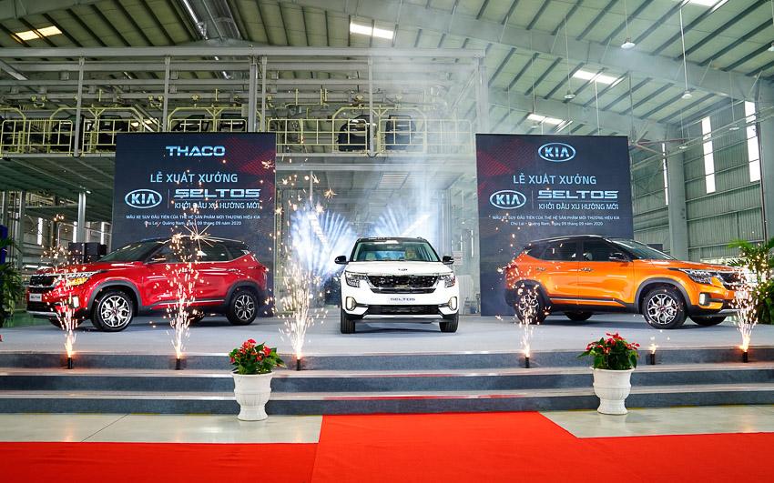 Kia Seltos chính thức xuất xưởng với ba phiên bản phiên bản và áp dụng giá mới