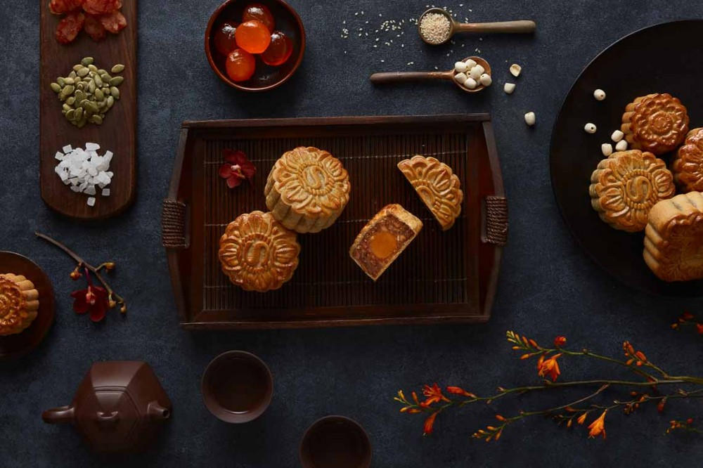 Bộ sưu tập bánh trung thu 2020 của khách sạn Sheraton Sài Gòn