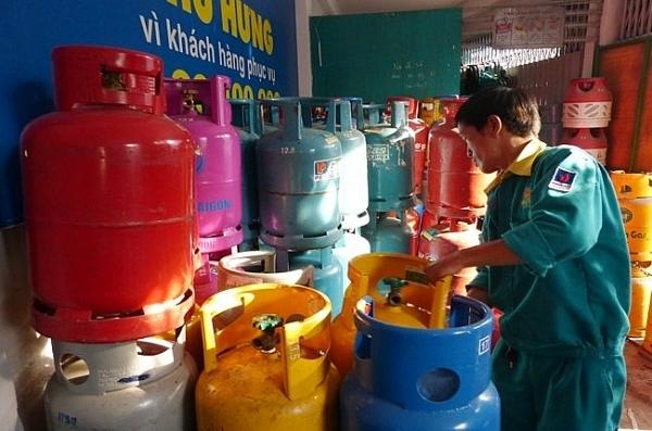Từ 1.12, gas loại 12 kg tăng 6.500 đồng